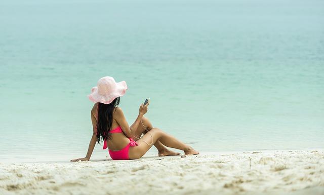 Handys im Urlaub